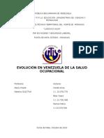 Salud Ocupacional en Venezuela - Alicia