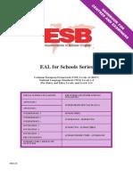 EAL Schools Syllabus