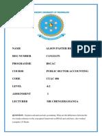 Public Sec Assignment[1]