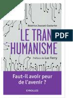 Jousset-Couturier, Béatrice-Le Transhumanisme _ Faut-il Avoir Peur de l'Avenir _-Eyrolles (2016)