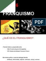Tema 6. Franquismo