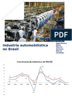 Trabalho - Industria Automibilistica