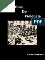 Crónicas de Violencia. 8 y 9 de Junio