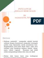 Pengantar sediaan semi solid & Anatomi Dan Fisiologi Kulit