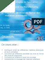 01 Procédés de Mise en Forme Des Matière Plastique