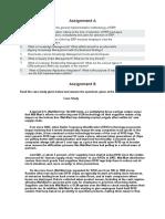 1 . Enterprise Management Assignment