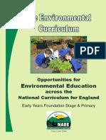 NAEE the Environmental Curriculum
