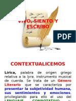 CONCEPTOS LÍRICA