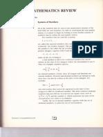 2. Mathematics Review Part 1 p135 p176