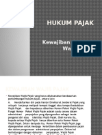 Hak&Kewajiban Wajib Pajak