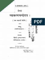 Hindi Vyakarannn