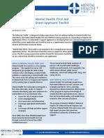 MHFA Grant Application Toolkit