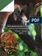 Presencia de Puma Puma Concolor en Un Pa (2)