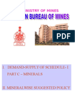 Indian Bureau of Mines An Introduction
