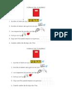 Normas Del Cuaderno de Lengua