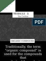 Module 3-Carbon Compounds