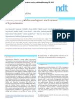 Guidelines Hyponatraemia 2014