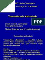 Traumatism Abdominal USMF