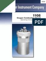 Manual Vaso de Oxigênio