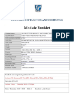 Module Booklet - Managing Financial Resources Decisions