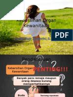 Kebersihan Organ Kewanitaan