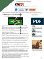 História Da Música Brasileira - Gazeta de Beirute