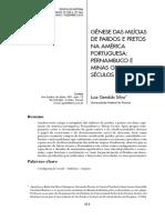 Genese Das Milicias de Pardos e Pretos Na America Portuguesa