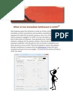 IMMEDIATE SETTLMENT TUTORIAL.pdf