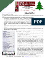 ESU Mauritius Newsletter Dec 2015