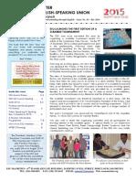 ESU Mauritius Newsletter Dec 2014