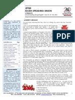 ESU Mauritius Newsletter December 2013