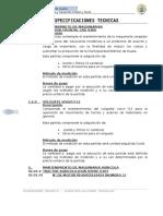 Especificaciones Tencnicas Maquinarias (1)
