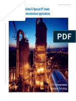 Nickel and HT Alloys for Petrochemical Applications (1)