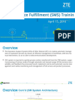 Zsmart OSS Service Fulfillment Training March 15,2016