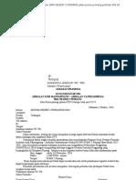 Microsoft Word  ( surat massal besera amplop )
