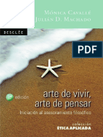 Cavalle Monica Y Machado Julian (Ed) - Arte De Vivir Arte De Pensar.pdf