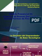 Curso Creación de Empresas Biotecnológicas