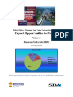 Export Opportunities to Panama