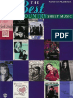 Best in Country Sheet Music - 1996