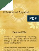 EBM&Critical Appraisal