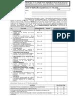 Formulario de Evaluacion Periodo de Prueba