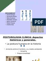 presentación postura