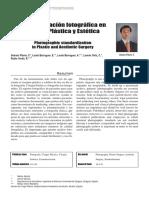 Estandarizacion Fotografica en Cirugia Plastica y Estetica