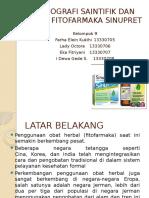 Monografi Saintifik Dan Klinis Fitofarmaka Sinupret