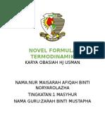 Novel Formula Termodinamik(Tingkatan 1)Maisarah