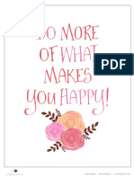 Happy Quote Printable