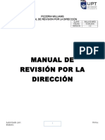 Manual de Revision Por La Direccion