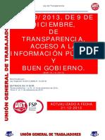 Ley Transparencia Actualizada 21 12 2013