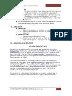 INFORME RED ALCANTARILLADO+PTAR