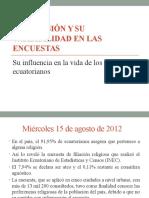 Anlisis de La Religion en el Ecuador